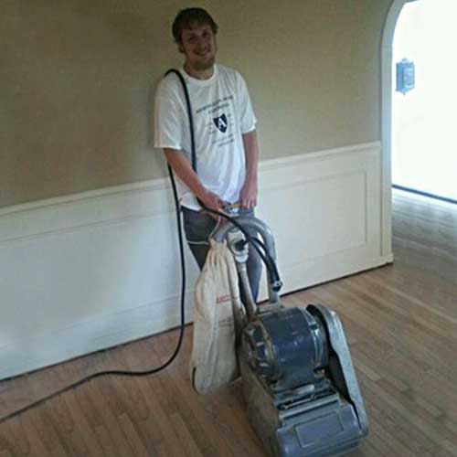 amorglow floors Sanding and refinishing